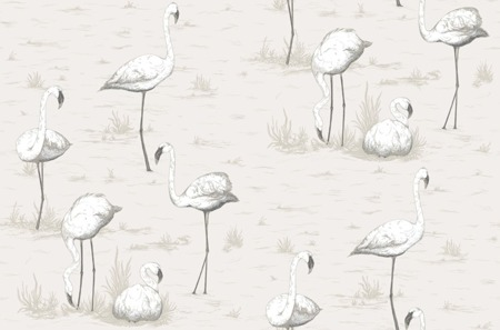 Tapeta Cole&Son The Contemporary Collection - Flamingos 95/8046