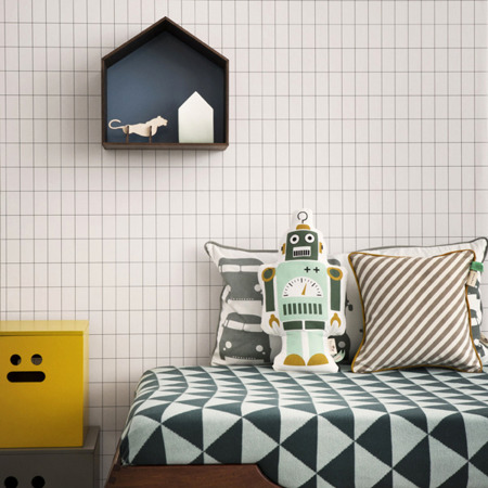 Tapeta Ferm Living - Grid 160